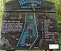 Poignant sign at John Merricks Lake - geograph.org.uk - 756729.jpg