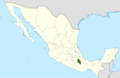 Polaskia chende range map.png