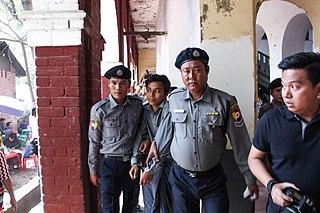 Myanmar journalist