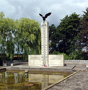 RAF Northolt - The Polish War Memorial near RAF Northolt