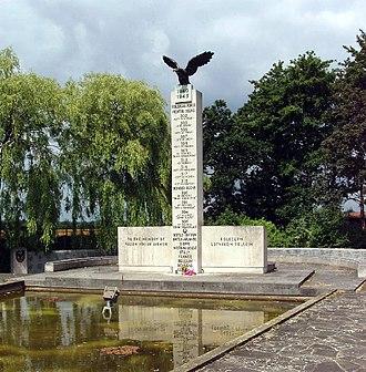 RAF Northolt - The Polish War Memorial near RAF Northolt