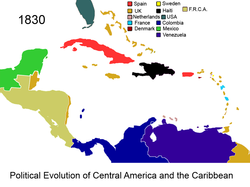 Political Evolution of Central America and the Caribbean 1830 na.png