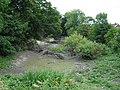 Pond on the Gypsey Race almost dry - geograph.org.uk - 1385793.jpg