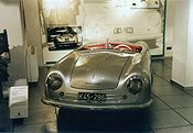 El primer Porsche, el 356 original de 1948