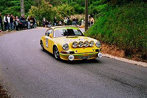 Porsche 911 (classic) - Porsche 911 in hillclimb