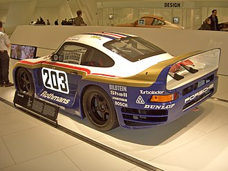 Porsche 961 - The Porsche 961 as it appeared for the 1987 24 Hours of Le Mans