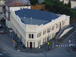 Dunedin Public Libraries - The Port Chalmers Municipal Building