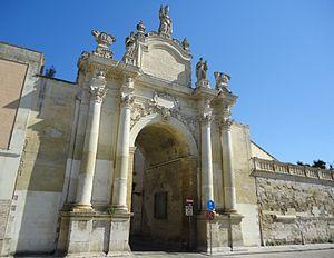 Porte Interne A Lecce.Lecce Travel Guide At Wikivoyage