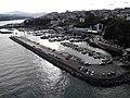 Porto deportivo de Ribadeo, dende a Ponte dos Santos.jpg