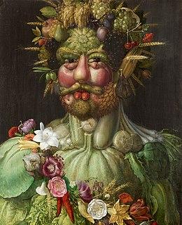 <i>Vertumnus</i> (painting) 1590-1591 painting by Giuseppe Arcimboldo