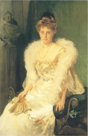 Charles Crocker - Portrait of  Mrs. Charles B Alexander (née Harriet Crocker 1859-1935), John Singer Sargent, 1902