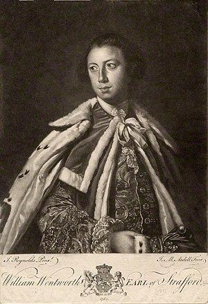 William Wentworth, 2nd Earl of Strafford (1722–1791) - William Wentworth, 2nd Earl of Strafford.
