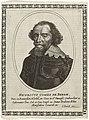Portret van Hendrik, graaf van den Bergh Henricvs Comes de Bergh (titel op object), RP-P-2009-553.jpg