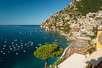 Tyrrhenian Sea - Amalfi Coast, Positano