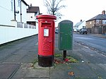 Post box on Dovedale Road, Mossley Hill.jpg