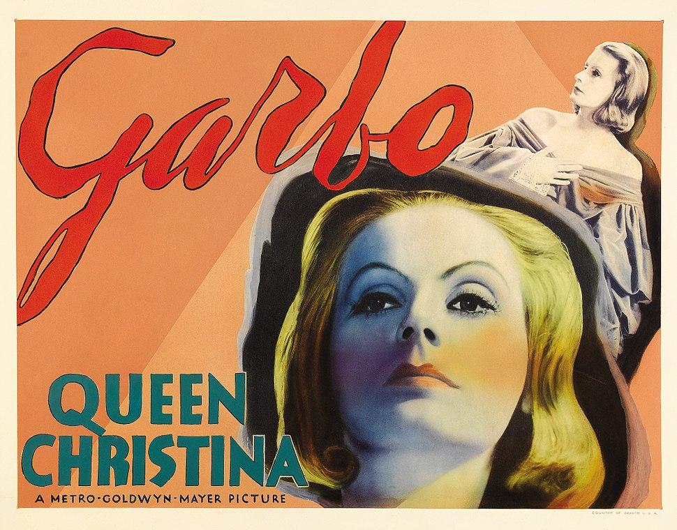 Poster - Queen Christina 02 Crisco restoration