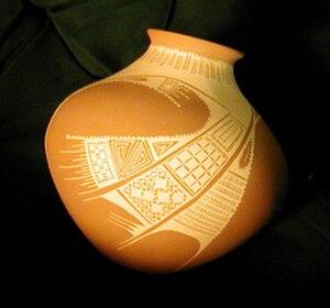 Olla - Mata Ortiz pottery - Juan Quezada