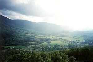 Powell Valley - Powell Valley near Norton, VA