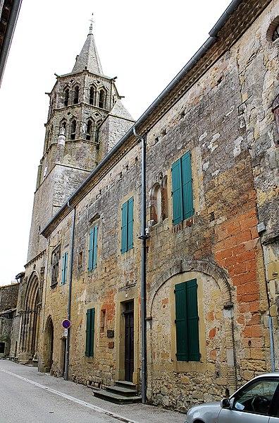 Presbytère et église Saint-Félix de Saint-Félix-Lauragais