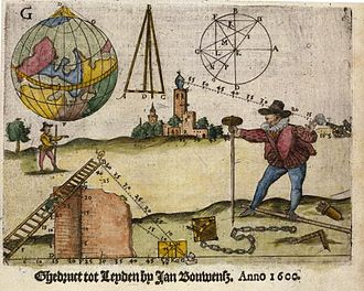 Johan Sems - Cover of Practijck des lantmetens (1600)