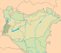 Praenoricum floristic district in Hungary.png