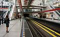 Prague metro, Strizkov station, inside.jpg