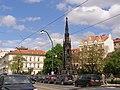 Praha, Staré Město, Smetanovo nábřeží, Krannerova fontána 01.jpg
