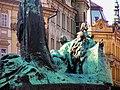Praha - Staroměstské náměstí - Jan Hus Monument.jpg