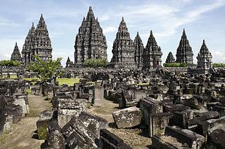 Prambanan 9th-century Hindu temple compound in Special Region of Yogyakarta, Indonesia