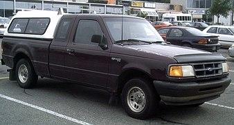 1996 ford ranger dimensions