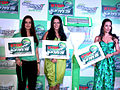 Preity, Malaika and Neha at 'Gillette PMS campaign' event 01.jpg
