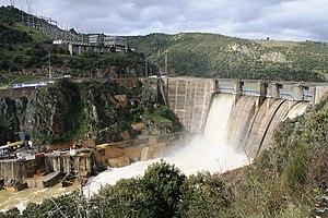 Bemposta Dam - Image: Presa de Bemposta
