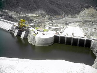 Electricity sector in Mexico - Image: Presa de El Cajón
