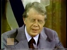 File:President Carter's Remarks on Joint Statement at Camp David Summit (September 17, 1978) Jimmy Carter.ogv