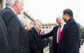 President Trump at Welcome Ceremony, Beijing, November 2017 (38227496126).png