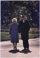President and Mrs. Bush take a last walk around the White House Grounds - NARA - 186464.tif