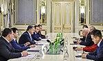 President of Ukraine Petro Poroshenko presented state awards to Senators John McCain and Lindsey Graham, 30 December 2016 (3).jpeg