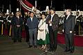 Presidente Evo Morales arribó a Quito (9346542925).jpg