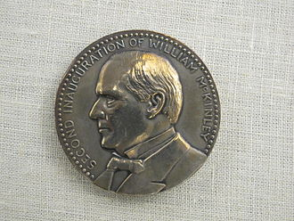 Second inauguration of William McKinley - Image: Presidential Medals Mc Kinley