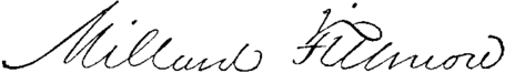 Presidents Millard Fillmore signature.png