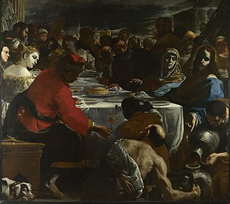 Mattia Preti - The Wedding at Cana, National Gallery, London
