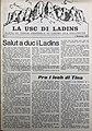 Prima plata dla Usc di Ladins N 1 1972.jpg