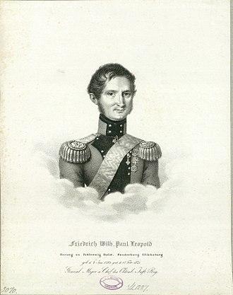 Friedrich Wilhelm, Duke of Schleswig-Holstein-Sonderburg-Glücksburg - Image: Prins Vilhelm 1785 1831