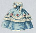 Print, Paper Doll Costume in Blue with White Trim and Garlands, 1876–80 (CH 18344243).jpg