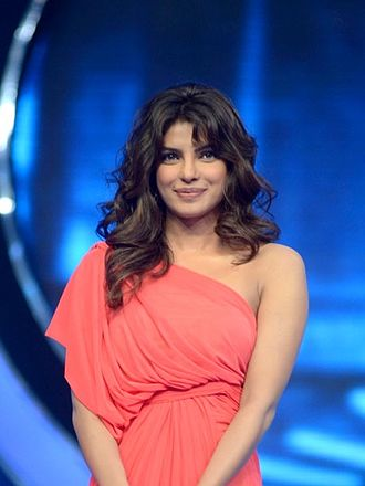 Priyanka Chopra - Chopra at a promotional event for Barfi! in 2012