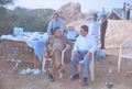 Professor T D Dogra, out side his camp,in rural area of Panchmahal, Gujrat, along with his team..png