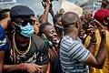 Protesters at the endSARS protest in Lagos, Nigeria 28.jpg