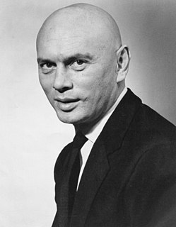 Yul Brynner Russian-born actor, singer, and director