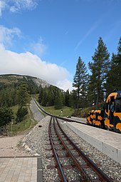 Puchberg am Schneeberg Schneebergbahn Station Baumgartner September 2014 b.jpg