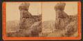 Pulpit Rock, Echo City, Utah, by Watkins, Carleton E., 1829-1916.png